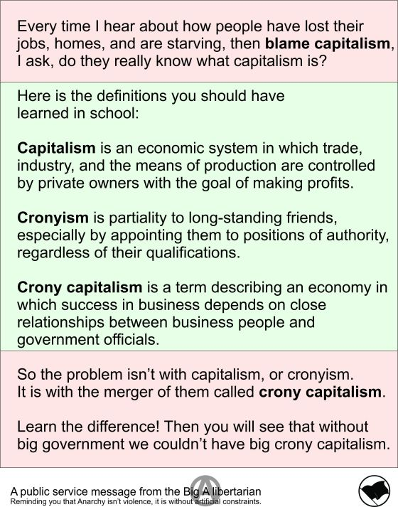 Information Correction Capitalism - Big A Libertarian